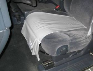 SeatCarry installed